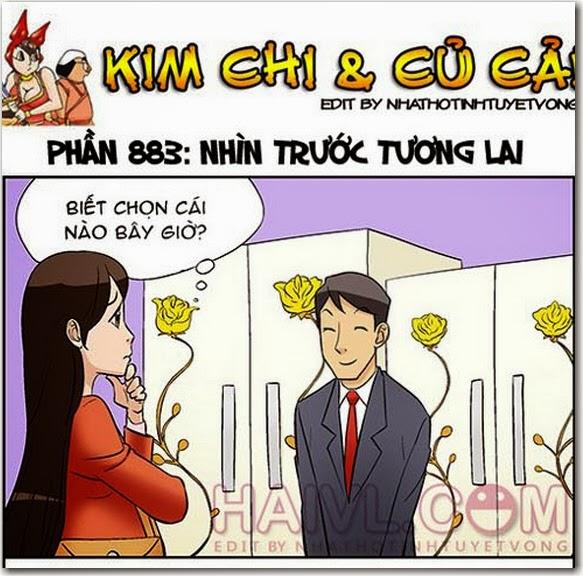 Nhin truoc tuong lai 1 Truyện bựa 18+ HQ: Kim Chi và Củ Cải 883   Nhìn Trước Tương Lai
