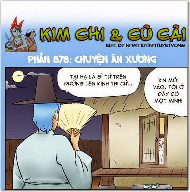 kim chi cu cai phan 878 chuyen an xuong 1 Truyện bựa 18+ HQ: Kim Chi và Củ Cải 878   Chuyện Ăn Xương