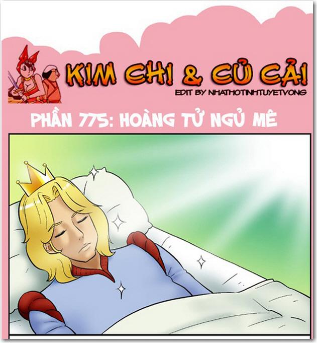 kim chi va cu cai phan 775 hoang tu ngu me 1 Truyện bựa 18+ HQ: Kim Chi và Củ Cải 775   Hoàng tử ngủ mê