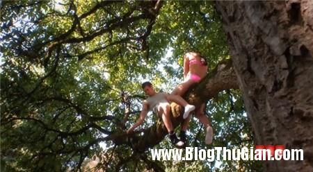 bi nga gay cua quy vi dai dot thu lam chuyen ay tren canh cay 1 Tìm cảm giác mới lạ, nam thanh niên bị gãy  của quý  khi đang  mây mưa trên cành cây
