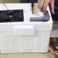 Hướng dẫn cách làm máy lạnh đơn giản từ đá & hộp xốp :)