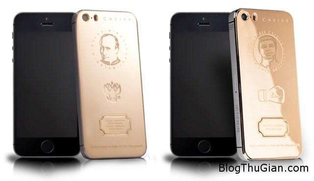 1 a558b iPhone mạ vàng khắc chân dung ông Putin