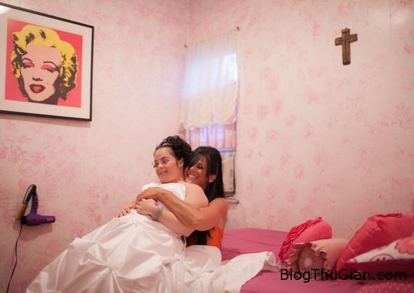 rot nuoc mat dam cuoi khong chu re7 Người mẹ vĩ đại tổ chức đám cưới không chú rể cho cô con gái bệnh down