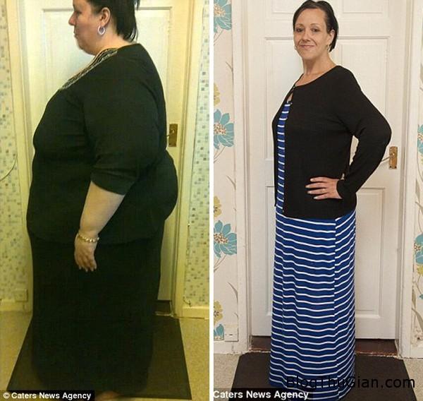 140814 2giam b422b Quyết tâm giảm 1/2 trọng lượng cơ thể chỉ vì một lời nói