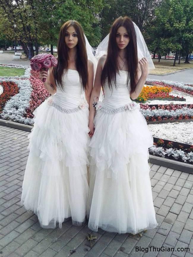 20140822 1041 dam cuoi ki la 1 Kỳ lạ chú rể ăn mặc như cô dâu trong lễ cưới của mình
