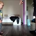Màn nhảy solo cực đáng iu của hai cha con