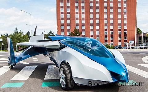 1 7330b Ô tô bay sẽ sớm xuất hiện để giải quyết tình trạng kẹt xe trong tương lai
