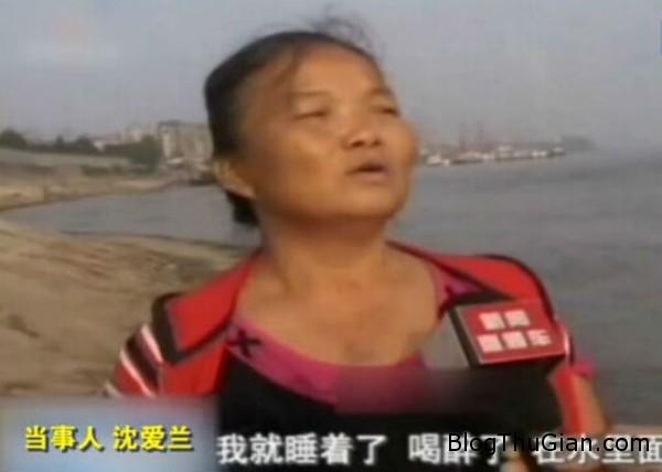 dang boi thi ngu quen troi 75km tren song Người phụ nữ nữa tỉnh nữa mê leeng đênh trên mặt biển gần 75km