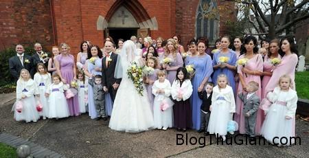 Big wedding 2 08a56 Đám cưới có tới 44 phụ dâu