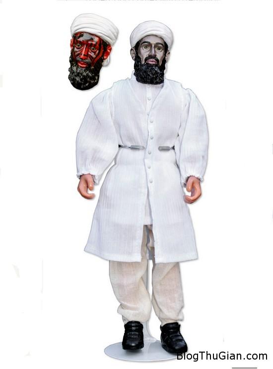 bin laden doll 550 d84a91 Đấu giá búp bê hình trùm khủng bố Osama Bin Laden