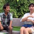 Chíp đường phố hát tặng gái xinh Hàn Quốc