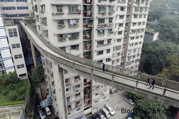 bridge 6566 1418723279 Cầu đi bộ ở độ cao 40m so với mặt đất