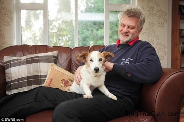 co cho 25 tuoi song lau nho che do an uong dac biet1  Gặp gỡ chú chó đáng yêu lớn tuổi nhất nước Anh