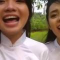 Hai em gái cover tình yêu màu nắng cực xinh