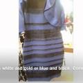 Chiếc váy ma quái : Túm lại nó là màu gì vàng-trắng hay xanh – đen