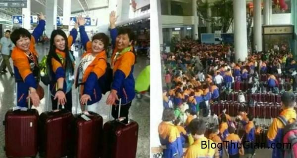 dai gia trung quoc cho 12700 nhan vien di du lich thai lan Đại gia Trung Quốc bỏ hơn 386 tỷ cho nhân nhân viên đi du lịch Thái Lan