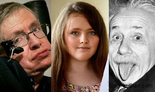 1438738214 1438693684 thong minh02 Cô bé có chỉ số IQ cao hơn cả Albert Einstein