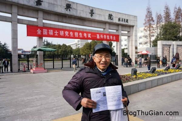 man1 2053 1420087081 Cụ ông tốt nghiệp đại học khi đã 73 tuổi