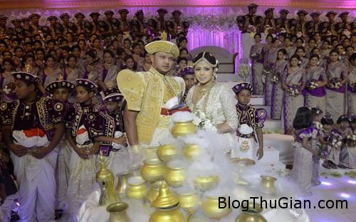 wedding 3553 1383966469 Đám cưới kỷ lục với 126 phù dâu