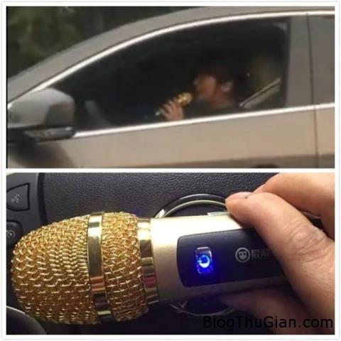 mai me hat co gai trung quoc bi tuyt coi phat nguoi 25429437 Bị phạt vì vừa lái xe vừa hát karaoke