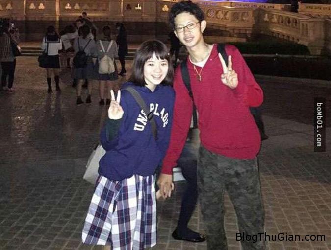 2 166 Xôn xao bức ảnh ngọt ngào của cặp đôi Nhật Bản