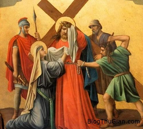anh 1 4997 1452501392 Giải mã chiếc khăn có tác dụng chữa bệnh của chúa Jesus