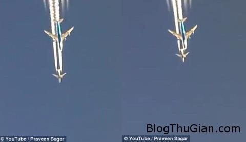 cuoc dua toc do cua ba boeing tren bau troi iraq 241030743 Màn đua tốc độ thú vị giữa hai chiếc Boeing trên bầu trời