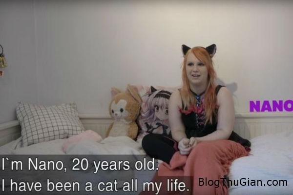 ky la thieu nu 20 nghi minh la meo suot ngay rinh bat chuot 1c709f8674 Kỳ lạ cô gái có cuộc sống như một con mèo
