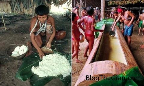 soc voi nghi thuc truong thanh cua gai trinh yanomami 3 Nghi thức trưởng thành vô cùng khắc nghiệt của thiếu nữ bộ tộc Yanomami