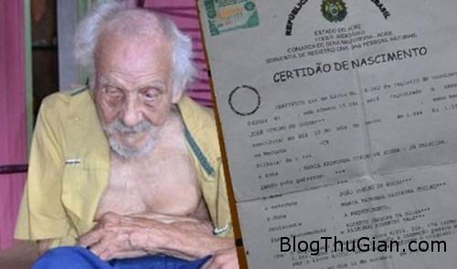 tinhhoa.net oHN0is 20160119 phat hien cu ong gia nhat the gioi 131 tuoi tai brazil Cụ ông già nhất thế giới thọ 131 tuổi