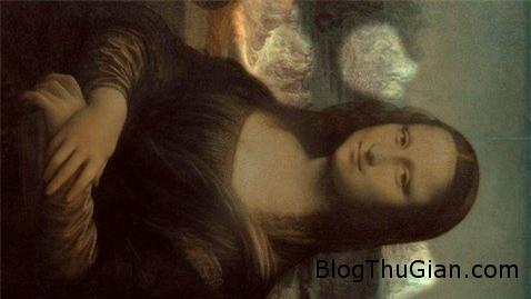 bi an guong mat da thu trong buc hoa kinh dien mona lisa 1 Gương mặt dã thú bí ẩn phía sau bức tranh nàng Mona Lisa