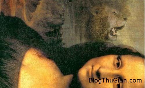 bi an guong mat da thu trong buc hoa kinh dien mona lisa 3 Gương mặt dã thú bí ẩn phía sau bức tranh nàng Mona Lisa