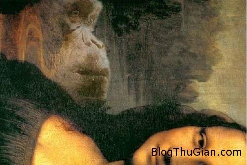 bi an guong mat da thu trong buc hoa kinh dien mona lisa 4 Gương mặt dã thú bí ẩn phía sau bức tranh nàng Mona Lisa