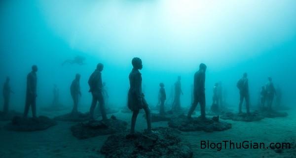 chuyen la co that bao tang duuoi day bien  93186 zoom Choáng ngợp với bảo tàng nghệ thuật dưới đáy biển