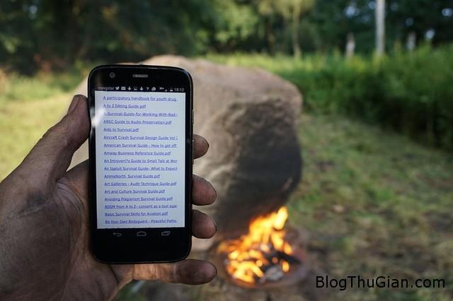 hon da la phat wifi khi dot lua1 Hòn đá có khả năng phát wifi khi được đốt nóng