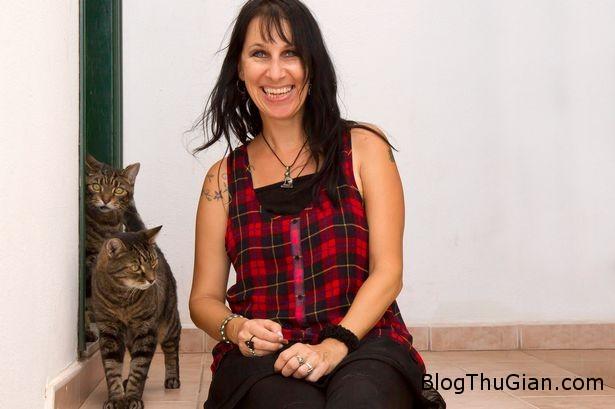 ky la chuyen nguoi cuoi 2 chu meo suot 16 nam Người phụ nữ tổ chức cưới hai chú mèo suốt 16 năm