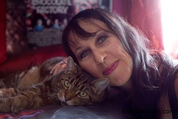 ky la chuyen nguoi cuoi 2 chu meo suot 16 nam2 Người phụ nữ tổ chức cưới hai chú mèo suốt 16 năm