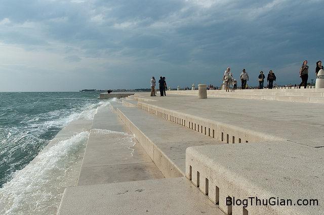 organ bien cay dan vi dai van hanh bang song va gio Cây đàn organ biển đặc biệt được vận hành bằng sóng và gió