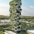 Cận cảnh tòa nhà chung cư cây xanh cao nhất thế giới - 117m